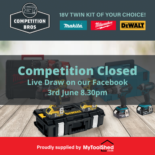 Win an 18v Drill / Driver Kit of Your Choice