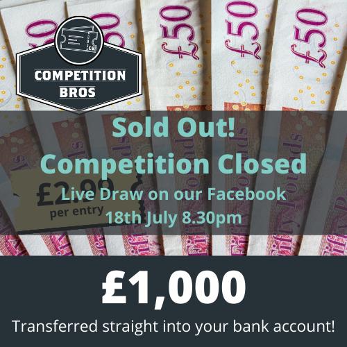 £1000 Cash #2